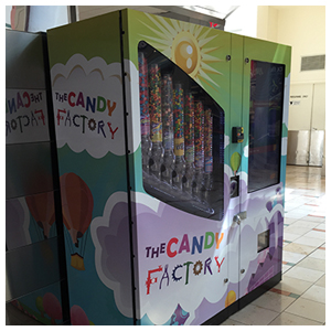 Candy Factory Vending Machines