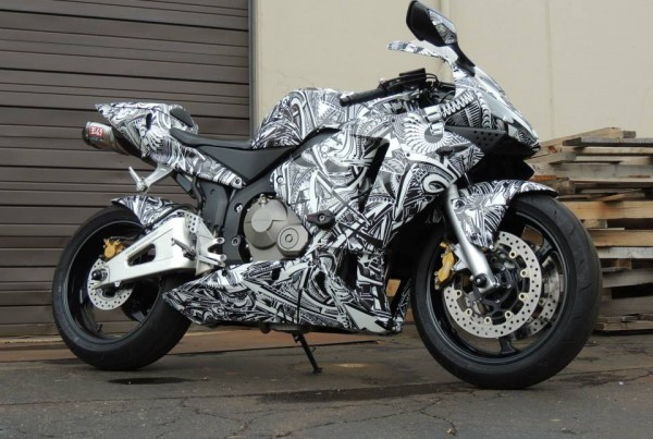 Urban Linez Motorcycle Wrap