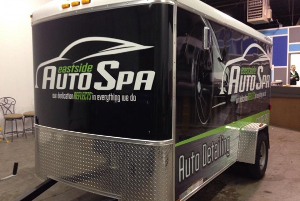 Eastside Auto Spa Trailer Wrap