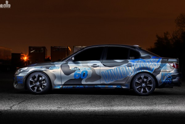 BMW Urban Camo Wrap