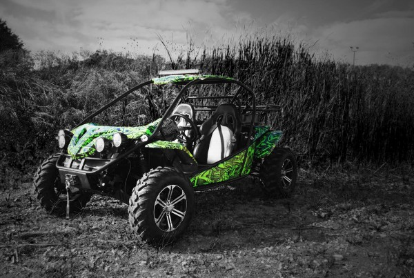 XY Powersports Ground Pounder UTV Wrap