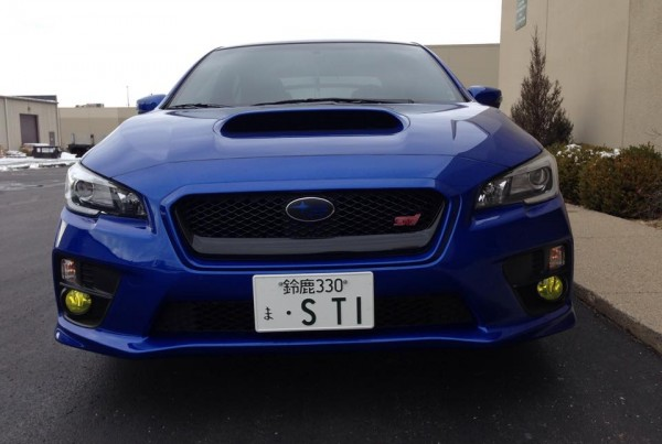 Subaru WRX Fog Light and Roof Wrap