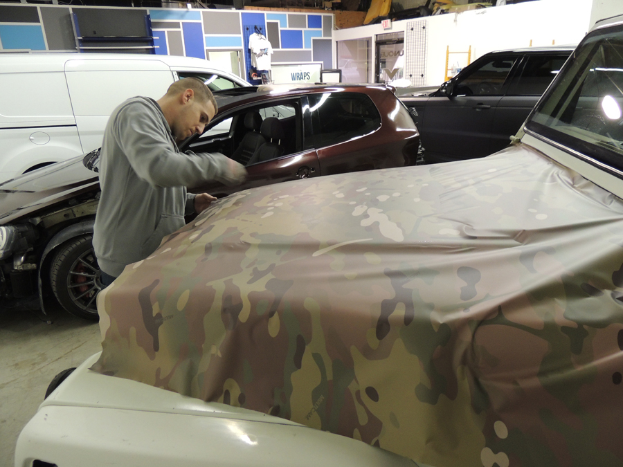Jeep Multi Cam Camo Wrap Vivid Wraps