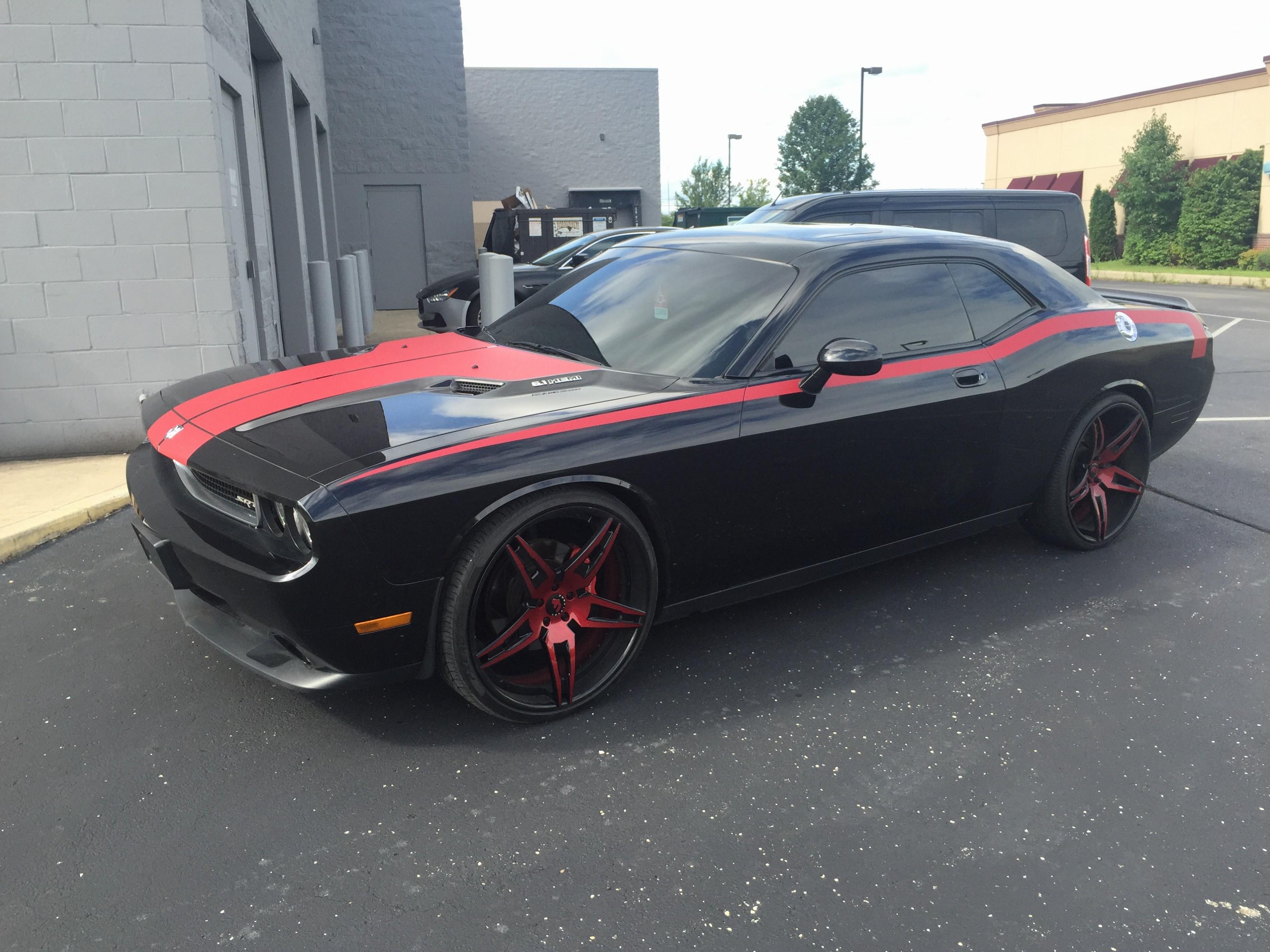 Dodge Challenger Stripes - Vivid Wraps