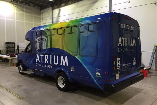 Middeltown Atrium Transit Bus