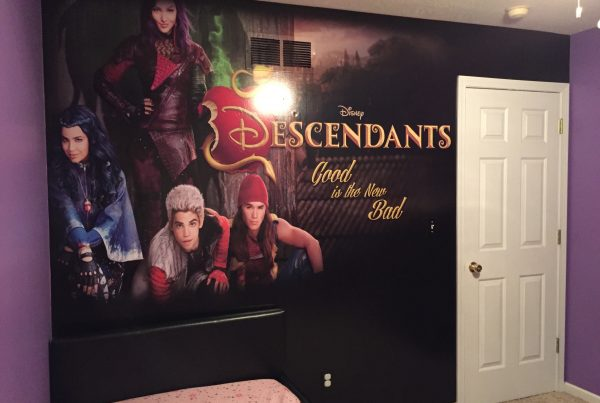 Descendants Wall Covering