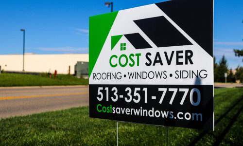Cost Saver Sign