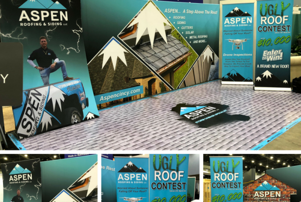 Aspen Roofing Banners and Signs