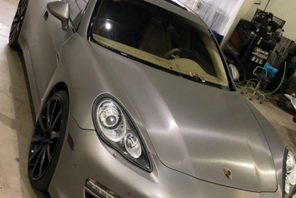 Porsche Panamera Brushed Titanium